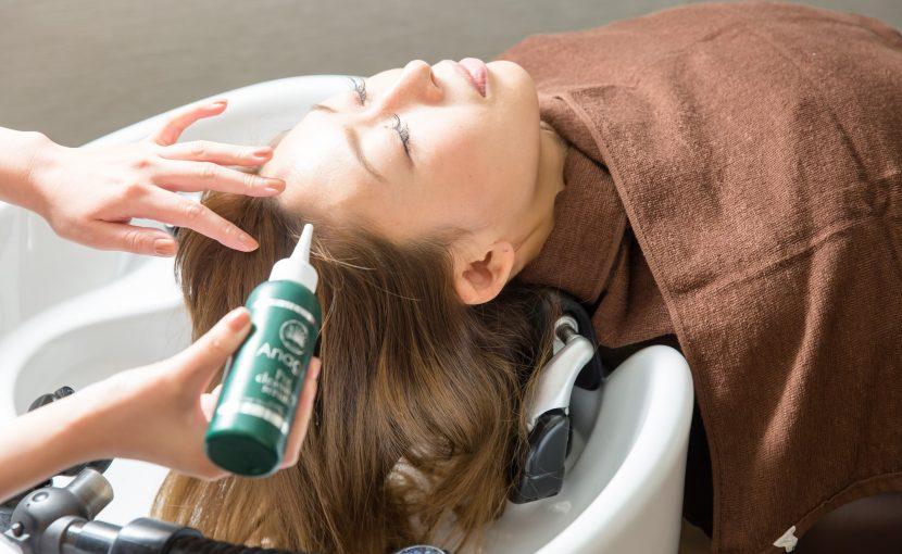 頭皮環境改善ヘッドスパ クレンジング